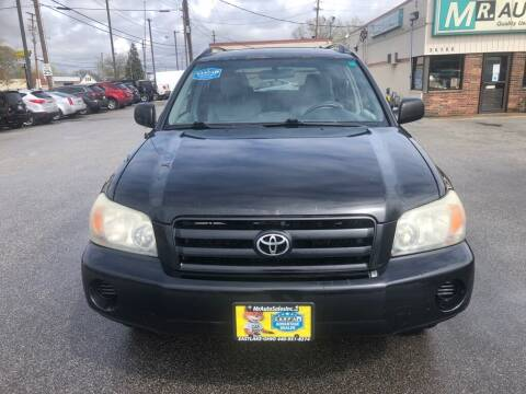 2004 Toyota Highlander for sale at MR Auto Sales Inc. in Eastlake OH