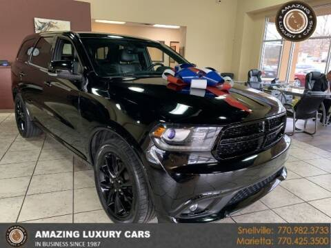 2017 Dodge Durango for sale at Amazing Luxury Cars in Snellville GA