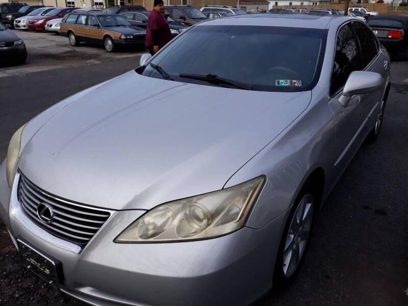 2008 Lexus ES 350 for sale at GALANTE AUTO SALES LLC in Aston PA