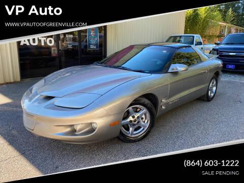 1999 Pontiac Firebird for sale at VP Auto in Greenville SC