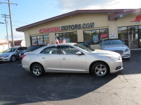 2014 Chevrolet Malibu for sale at Cardinal Motors in Fairfield OH