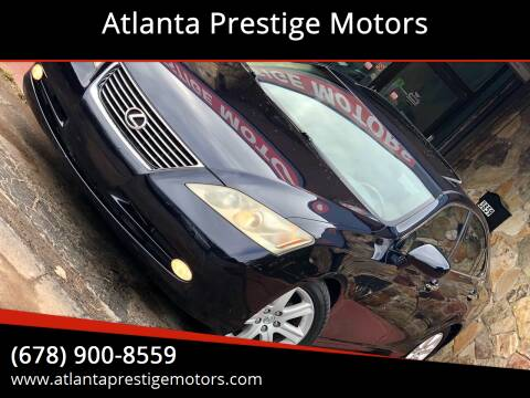 2007 Lexus ES 350 for sale at Atlanta Prestige Motors in Decatur GA