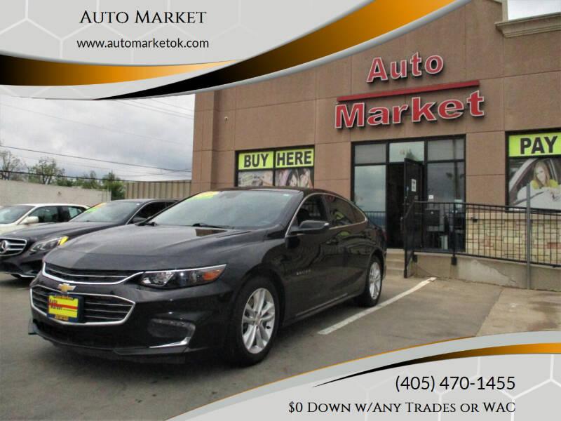 2018 Chevrolet Malibu for sale at Auto Market in Oklahoma City OK
