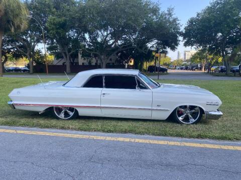 1963 Chevrolet Impala for sale at BIG BOY DIESELS in Fort Lauderdale FL