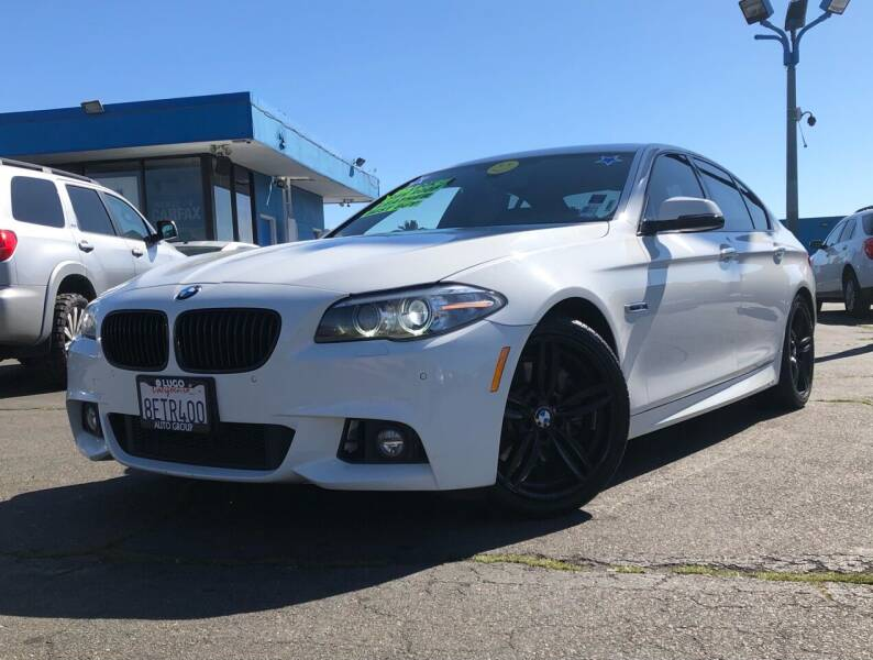 2015 BMW 5 Series for sale at LUGO AUTO GROUP in Sacramento CA