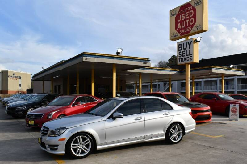 2014 Mercedes-Benz C-Class for sale at Houston Used Auto Sales in Houston TX