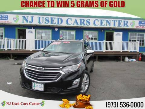 2018 Chevrolet Equinox for sale at New Jersey Used Cars Center in Irvington NJ