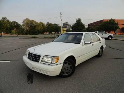 1997 Mercedes-Benz S-Class for sale at TJ Auto Sales LLC in Fredericksburg VA