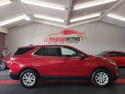 2018 Chevrolet Equinox for sale at Premium Motors in Villa Park IL