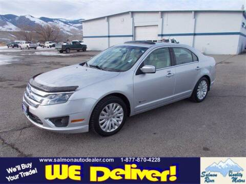 2010 Ford Fusion Hybrid for sale at QUALITY MOTORS in Salmon ID