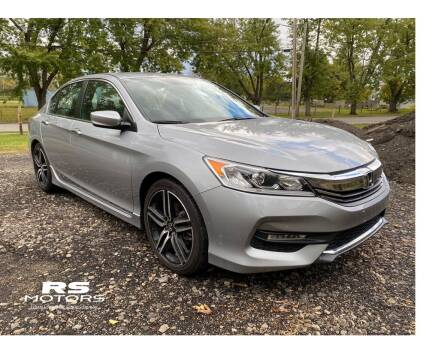 2017 Honda Accord for sale at RS Motors in Falconer NY