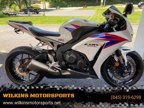 2012 Honda CBR1000RR for sale at WILKINS MOTORSPORTS in Brewster NY