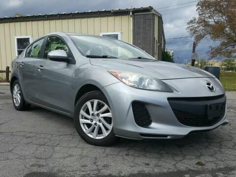 2012 Mazda MAZDA3 for sale at GLOVECARS.COM LLC in Johnstown NY