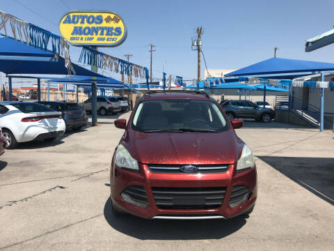2014 Ford Escape for sale at Autos Montes in Socorro TX