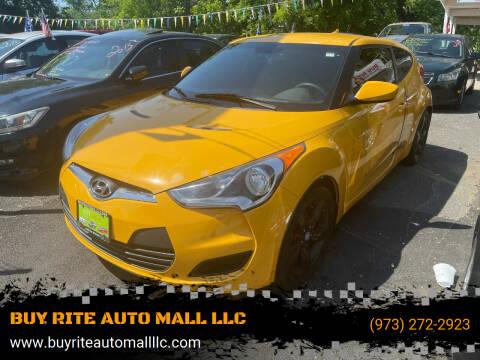 2013 Hyundai Veloster for sale at BUY RITE AUTO MALL LLC in Garfield NJ