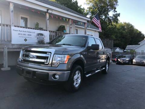 2013 Ford F-150 for sale at Flash Ryd Auto Sales in Kansas City KS