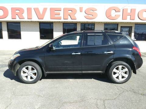 2006 Nissan Murano for sale at Driver's Choice in Sherman TX