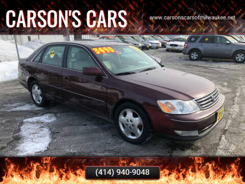 2004 Toyota Avalon for sale at Carson's Cars in Milwaukee WI