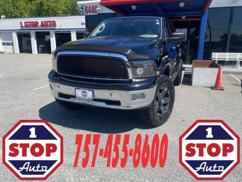 2012 RAM Ram Pickup 1500 for sale at 1 Stop Auto in Norfolk VA