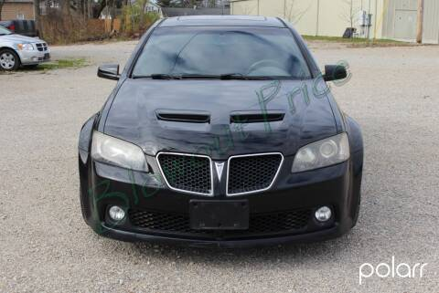 2009 Pontiac G8 for sale at Bowman Auto Sales in Hebron OH