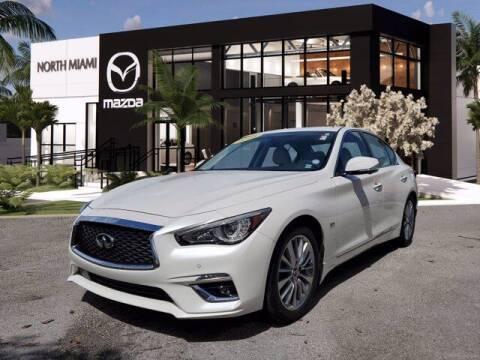 2018 Infiniti Q50 for sale at Mazda of North Miami in Miami FL