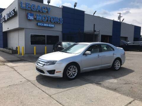 2012 Ford Fusion for sale at Legacy Motors in Detroit MI
