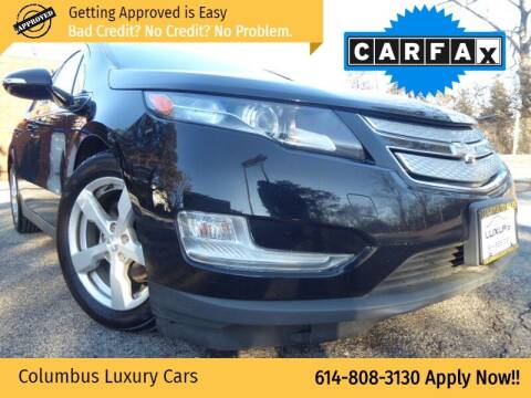 2013 Chevrolet Volt for sale at Columbus Luxury Cars in Columbus OH