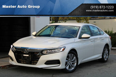 2018 Honda Accord for sale at Master Auto Group in Raleigh NC