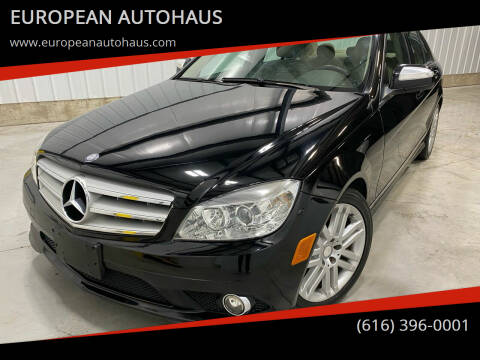 2009 Mercedes-Benz C-Class for sale at EUROPEAN AUTOHAUS in Holland MI