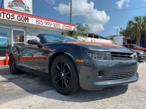 2015 Chevrolet Camaro for sale at Always Approved Autos in Tampa FL