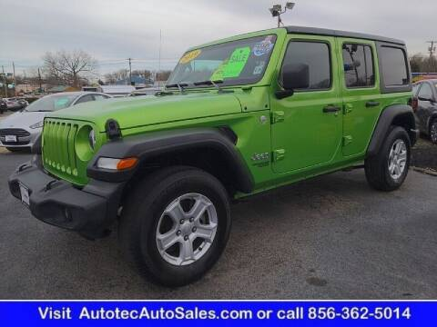 2019 Jeep Wrangler Unlimited for sale at Autotec Auto Sales in Vineland NJ