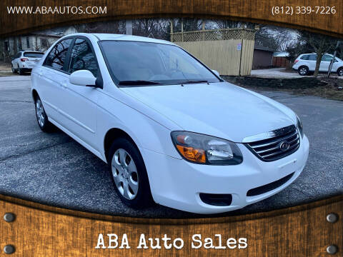 2009 Kia Spectra for sale at ABA Auto Sales in Bloomington IN