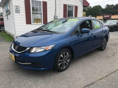 2014 Honda Civic for sale at Crown Auto Sales in Abington MA