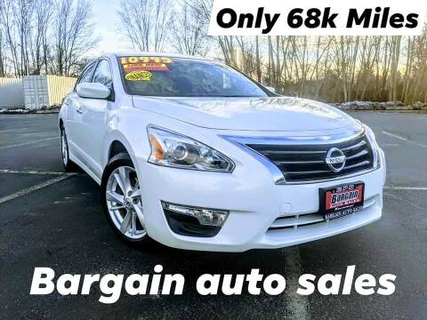 2014 Nissan Altima for sale at Bargain Auto Sales LLC in Garden City ID