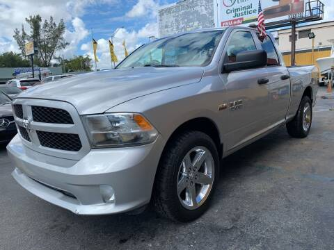 2014 RAM Ram Pickup 1500 for sale at AUTO ALLIANCE LLC in Miami FL