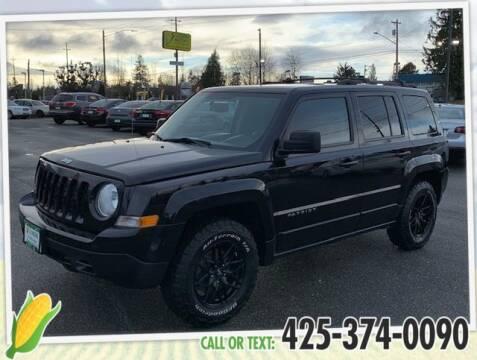 2012 Jeep Patriot for sale at Corn Motors in Everett WA