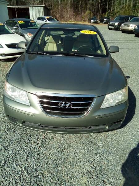 2010 Hyundai Sonata for sale at Locust Auto Imports in Locust NC
