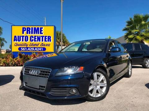 2010 Audi A4 for sale at PRIME AUTO CENTER in Palm Springs FL