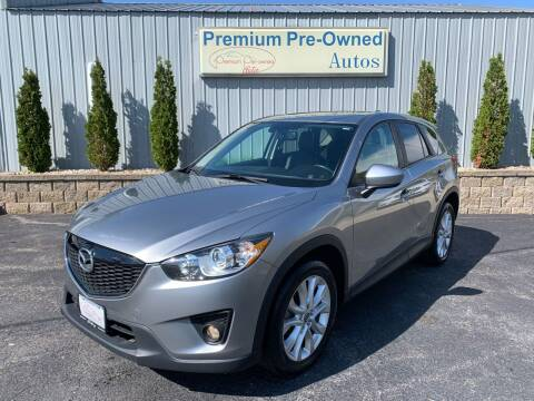 2013 Mazda CX-5 for sale at PREMIUM PRE-OWNED AUTOS in East Peoria IL