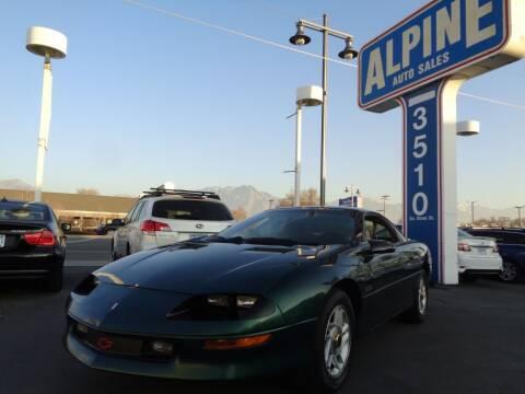 1995 Chevrolet Camaro for sale at Alpine Auto Sales in Salt Lake City UT
