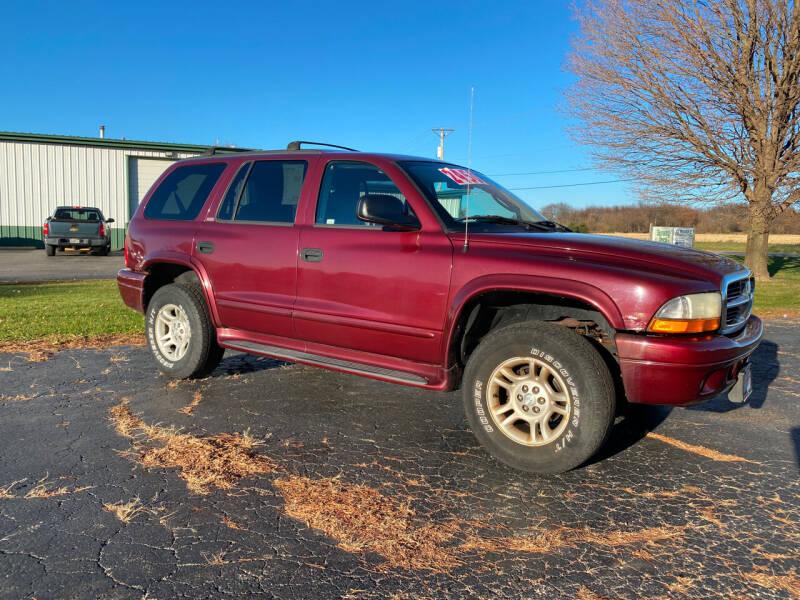 2002 Dodge Durango for sale at McClain Auto Mall in Rochelle IL