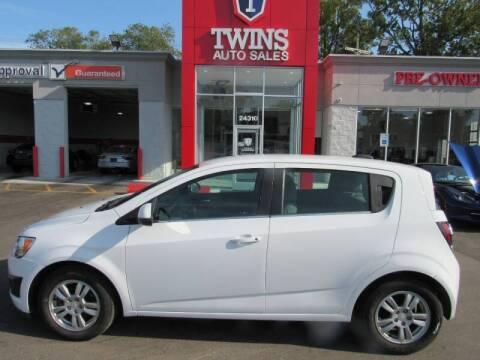 2016 Chevrolet Sonic for sale at Twins Auto Sales Inc - Detroit in Detroit MI