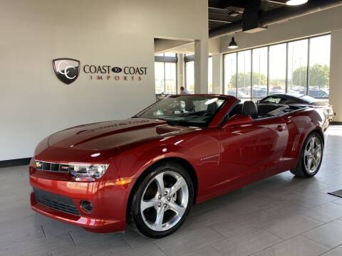 2014 Chevrolet Camaro for sale at Coast to Coast Imports in Fishers IN
