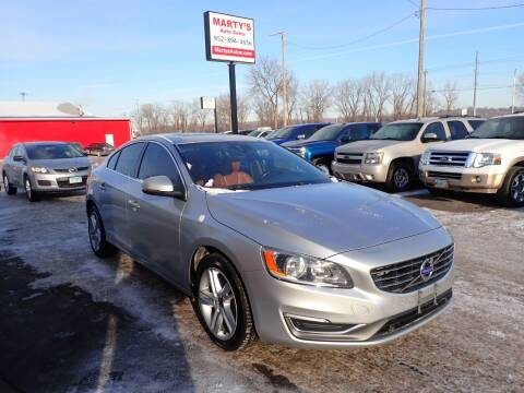 2015 Volvo S60 for sale at Marty's Auto Sales in Savage MN