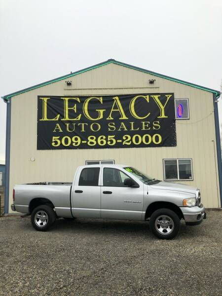 2005 Dodge Ram Pickup 1500 for sale at Legacy Auto Sales in Toppenish WA