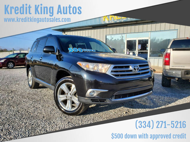 2012 Toyota Highlander for sale at Kredit King Autos in Montgomery AL