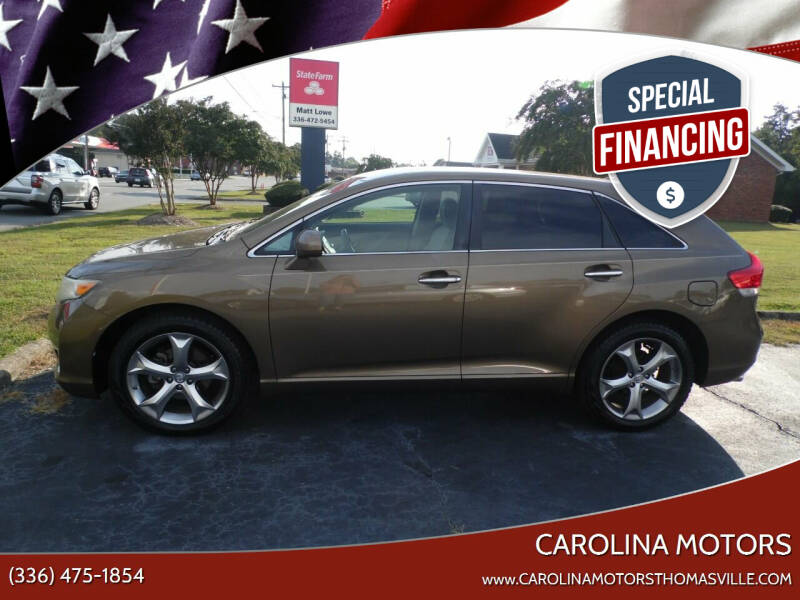 2009 Toyota Venza for sale at CAROLINA MOTORS in Thomasville NC
