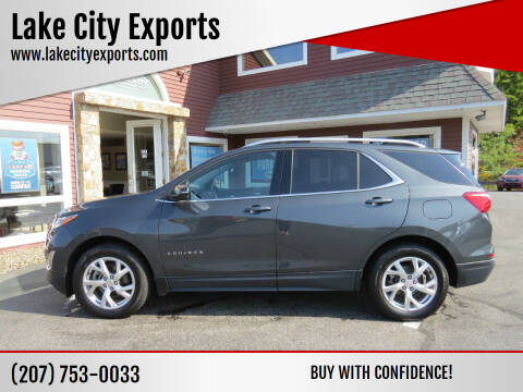 2018 Chevrolet Equinox for sale at Lake City Exports - Lewiston in Lewiston ME