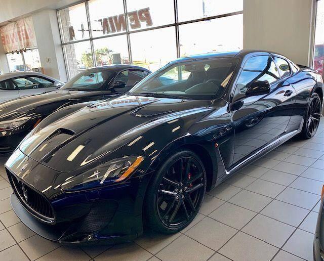 2017 Maserati GranTurismo for sale at Peninsula Motor Vehicle Group in Oakville NY