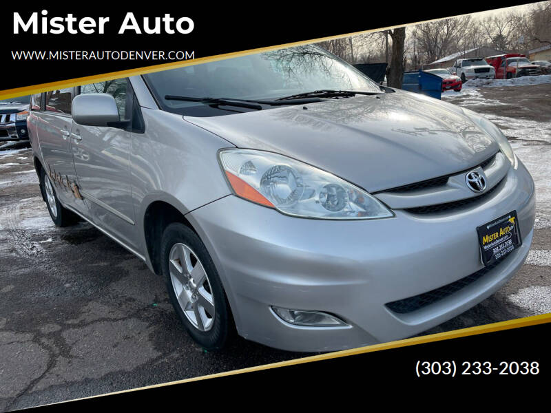 2006 Toyota Sienna for sale at Mister Auto in Lakewood CO
